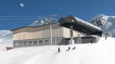 Bergstation (Projektbild)
