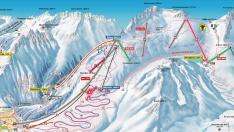 Masterplan der Skiarena Andermatt-Sedrun<br/>aktualisiert 2017 von flip