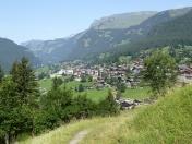 Aufstieg zur Pfingstegg<br/>Blick Richtung Grindelwald