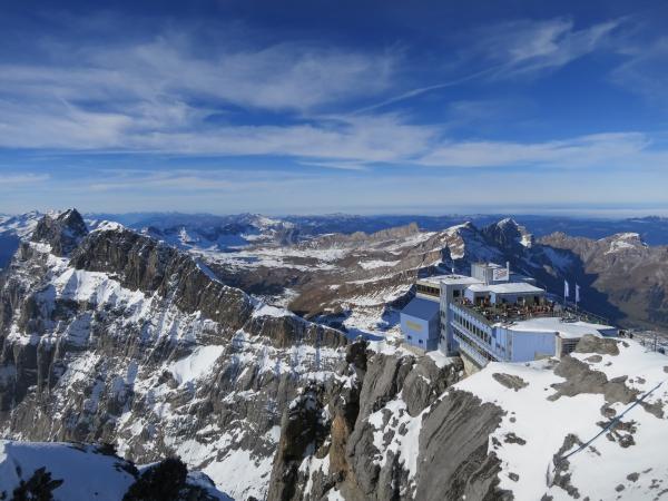 Bergstation der Titlisbahn