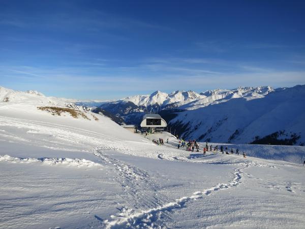 Sedrun: Cuolm-Val am 29. Dezember