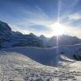 Wintersonne über der Blüemlisalp