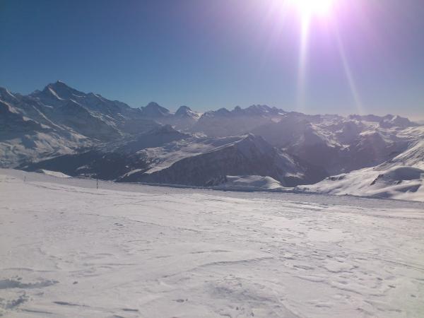 Richtung Jungfrau