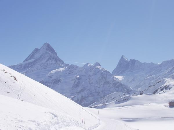 vom Oberjoch Richtung Schreckhorn ©byJet