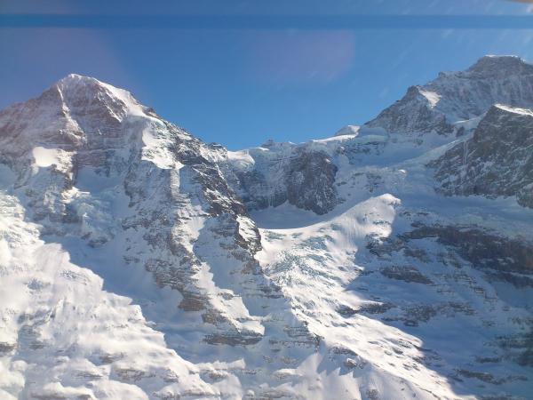 Richtung Jungfraujoch