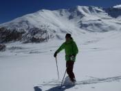 auf der Alp Era - Gneis - hinten der Mot Patschal