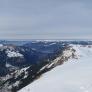 Blick vom Tschuggengipfel ins Unterland