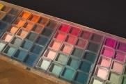 Jakob Weders Farbkasten mit 133 Farben (Quelle: gewerbemuseum.ch)