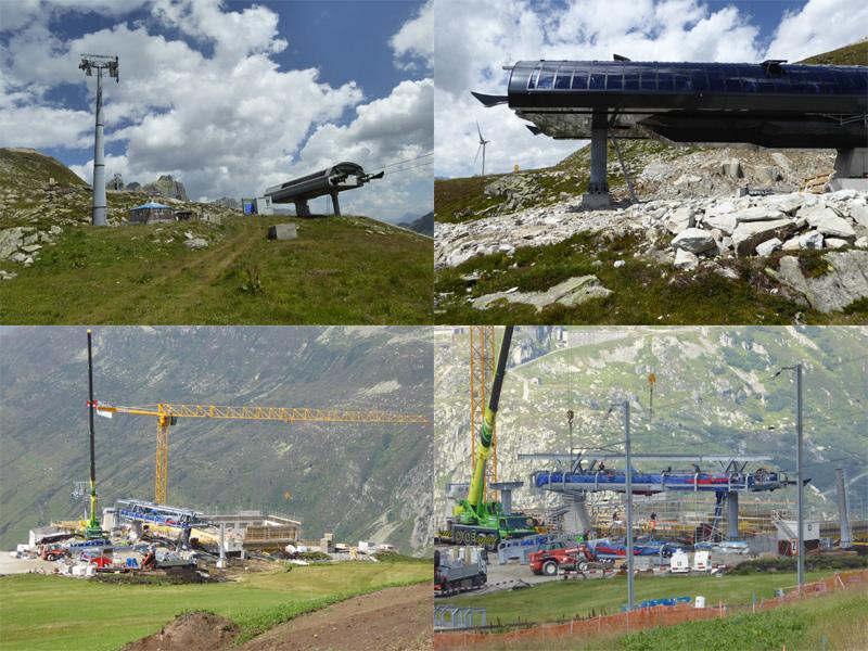 Skiarena Andermatt-Sedrun ist im Bau > click for more pics